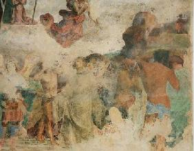 The Last Judgement, detail depicting the damned