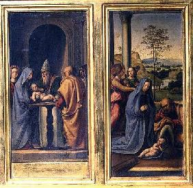 Presentation in the Temple and the Nativity