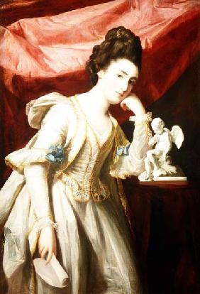 Portrait of a Lady with a Statuette of Cupid