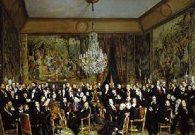 The Salon of Alfred Emilien, Comte de Nieuwerkerke (1811-92) at the Louvre