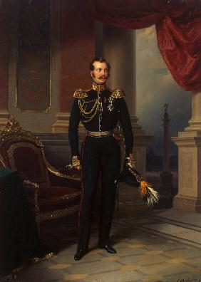 Portrait of the Crown prince Alexander Nikolayevich (1818-1881)