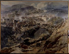 The siege of Akhoulgo