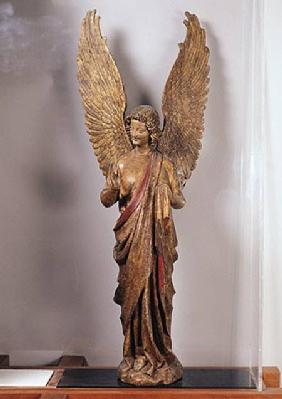Angel, 1260-70, from the Church of Saudemont