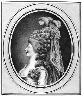Louise Contat de Parny (1760-1813) in the role of Suzanne in ''The Marriage of Figaro'' Pierre Augus