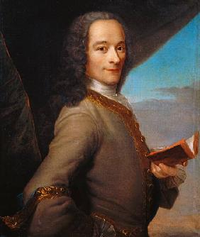 Portrait of the Young Voltaire (1694-1778)