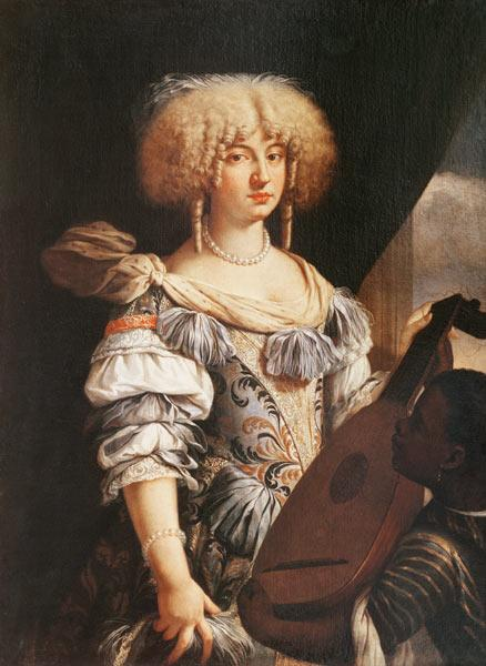 Portrait of a Woman with a Moorish Page