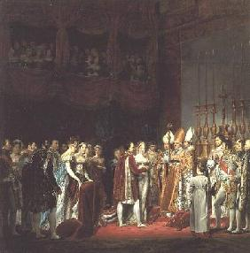 The Marriage of Napoleon I (1769-1821) and Marie Louise (1791-1847) Archduchess of Austria, 2nd Apri