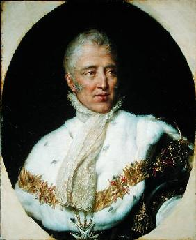 Portrait of Charles X (1757-1836) King of France