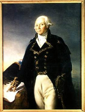 Portrait of Francois-Christophe Kellermann (1735-1820)
