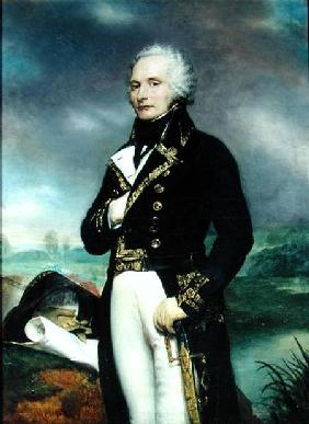 Portrait of Viscount Alexandre-Francois-Marie de Beauharnais (1760-94) after a painting by J. Guerin