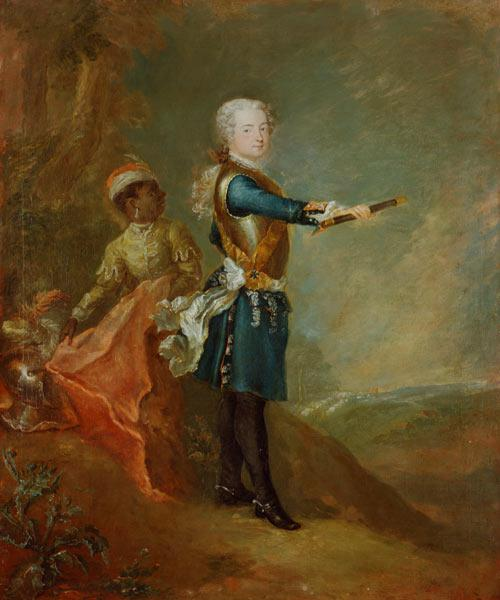 Frederick II as Crown Prince, c.1735