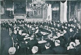 The St. James's Palace Conference, London, 19th March 1936, from 'Deutsche Gedenkhalle: Das Neue Deu