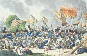 Battle of Ligny, 16th June 1815 (engraving)