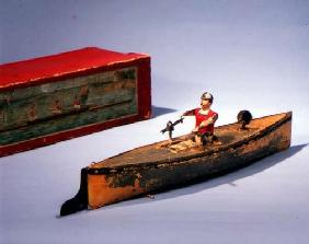 Rowing boat made by Issmeyer, late 19th century