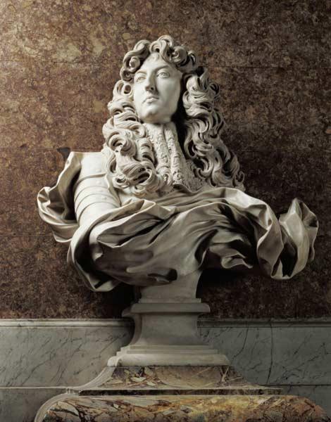 Afbeelding Gianlorenzo Bernini - Portrait bust of Louis XIV (1638-1715 ...