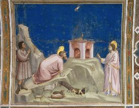 Giotto, Opfer Joachims