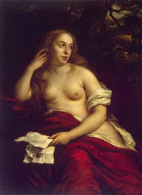 Bathsheba with King David's Letter
