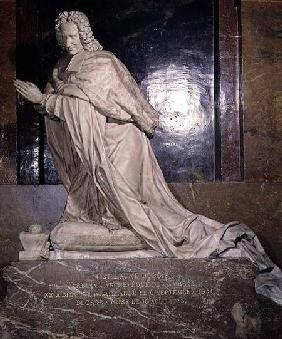The Tomb of Cardinal Guillaume Dubois (1656-1723)