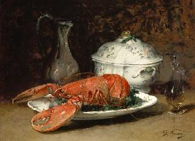 Still Life with a Lobster and a Soup Tureen
