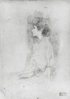 Seated Girl in Shadow