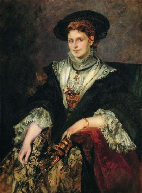Portrait of Bertha von Piloty