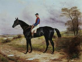 "Earl Poulett's ""The Lamb"" , Winner of the Grand National, with Mr.George Ede"