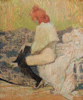 Red-haired woman
