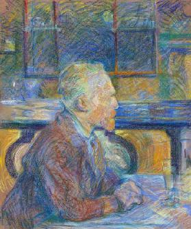 Portrait of Vincent van Gogh