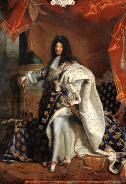 Louis XIV (1638-1715) in Royal Costume