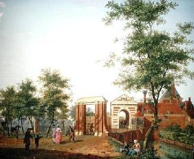 View of the Zylpoort, Harlem