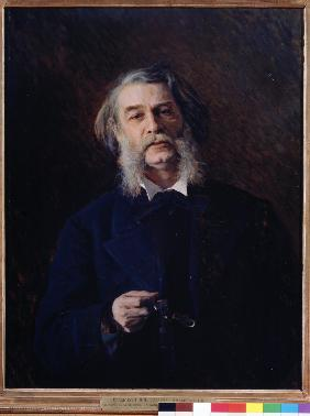 Portrait of the author Dmitri Grigorovitch (1822-1899)