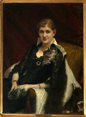 Portrait of Y.A. Voeykova