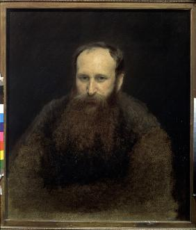 Portrait of the artist Vasili Vereshchagin (1842-1904)