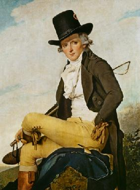 Portrait of Pierre Seriziat (1757-1847) the artist's brother-in-law
