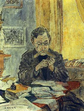 Portrait of the poet Émile Verhaeren (1855-1918)