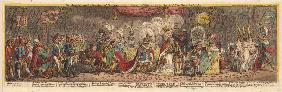 The Grand Coronation Procession of Napoleon the 1st Emperor of France, from the church of Notre-Dame