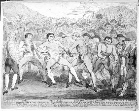 Boxing match between Thomas Futrell and John Jackson, June 9th 1788