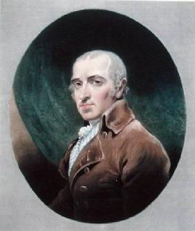 Mr James Gillray (1756-1815) engraved by Charles Turner