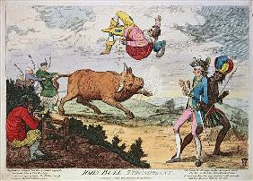 John Bull Triumphant, published by William Humphrey, 4th January 1780