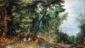 Wooded Landscape, or The Rest on the Flight into Egypt