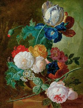 Still Life of Flowers (panel)