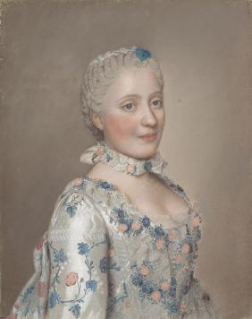 Portrait of Princess Maria Josepha of Saxony (1731–1767)