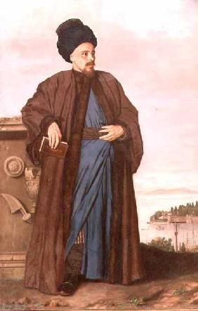 Richard Pococke in oriental costume