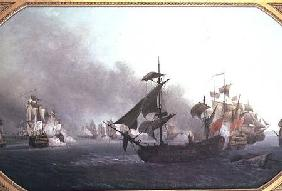 Naval Combat off the Isle of Grenada, 6th July 1779