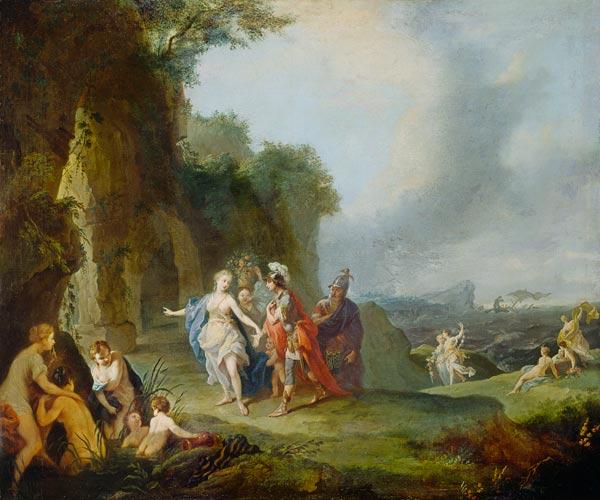 Plutone e Prosèrpina. Leggenda greca. Dido_und_aeneas