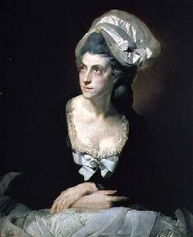 Portrait of Mary Thomas, the Artist's Wife