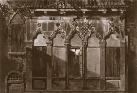 Arabian Windows, In Campo Santa Maria Mater Domini, from 'Examples of the Architecture of Venice' by