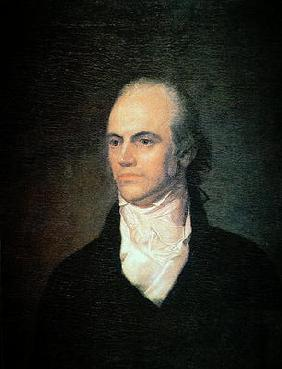 Aaron Burr (1756-1836) Vice President of the USA, c.1802 (oil on canvas)