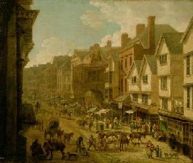 The High Street, Exeter, 1797