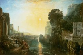 Dido building Carthage, or the Rise of Carthaginian Empire  - Joseph Mallord William Turner